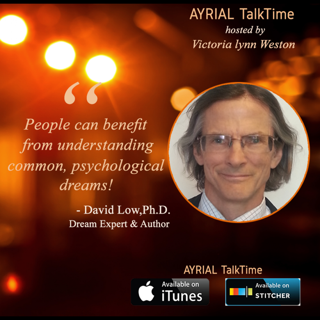 David Low, Ph.D. Dream Expert