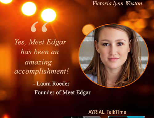 The Woman Behind Meet Edgar is Guest on AYRIAL TalkTime
