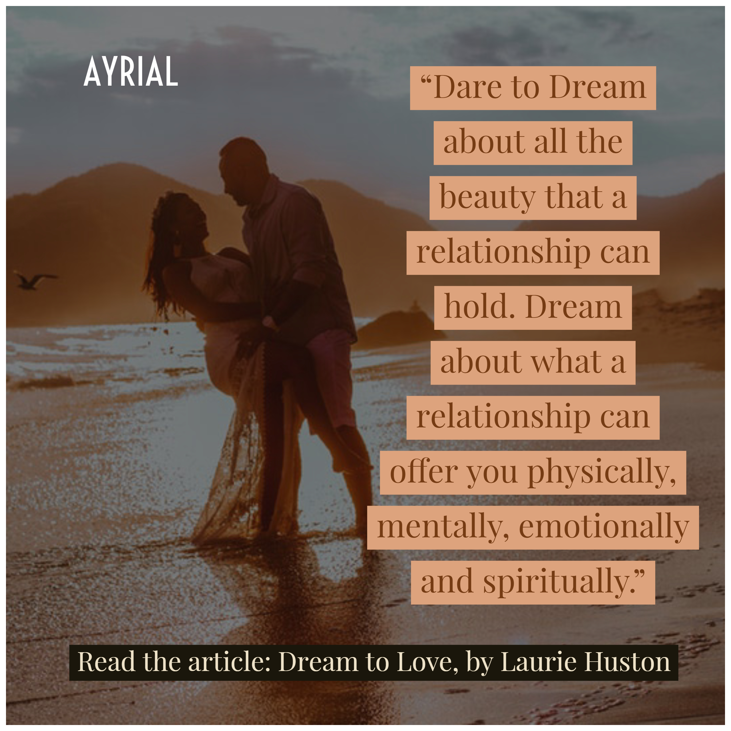 Dream to Love by Laurie Huston, Intuitive Soul