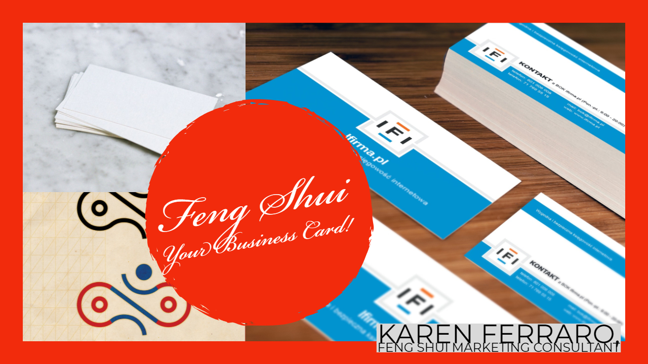 Feng Shui Your Business Card to Attract Wealth